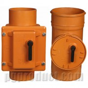 شیریکطرفه قفل دار نارنجی - پلیمر گلپایگان