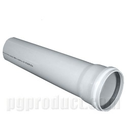 Soil And Waste Discharge Pipes ,Grey, Solvent Socket, piece ,Push Fit