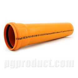 Soil And Waste Discharge Pipes ,Orange, Solvent Socket, piece ,Push Fit