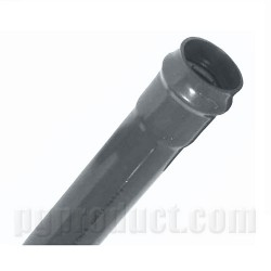 Water Supply Pipe ,Push Fit ,Dark Grey, Single Solvent Socket ,6m