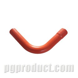 Bent pipe 90° - ESB - red