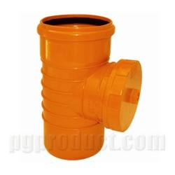Access Pipe With Threaded Cap