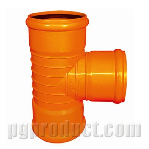 سه راهی 87.5 درجه سه سر کوپله نارنجی پوش فیت - پلیمر گلپایگان