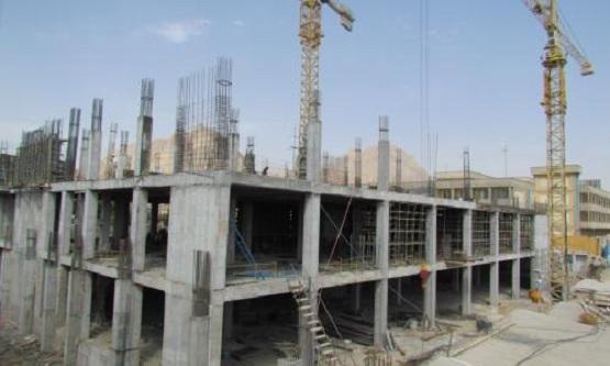 محصولات چسبی پلیمر گلپایگان (PG) در پروژه مرکز آموزشی درمانی کودکان بیمارستان امام حسین (ع) اصفهان